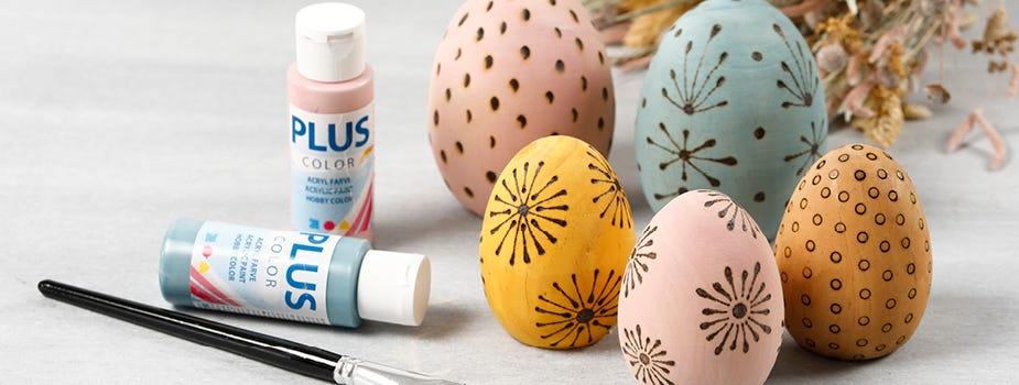Figure, uova e animali per decorare