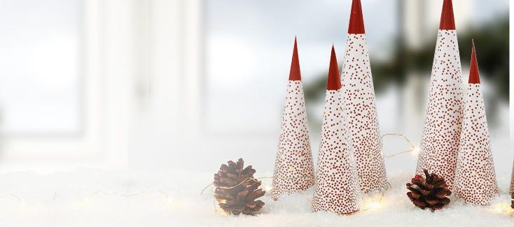 Decorazioni di Natale fatte a mano