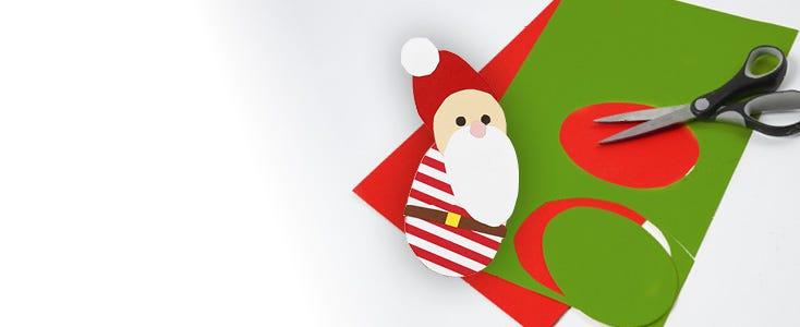Decorazioni di Natale con cartamodelli