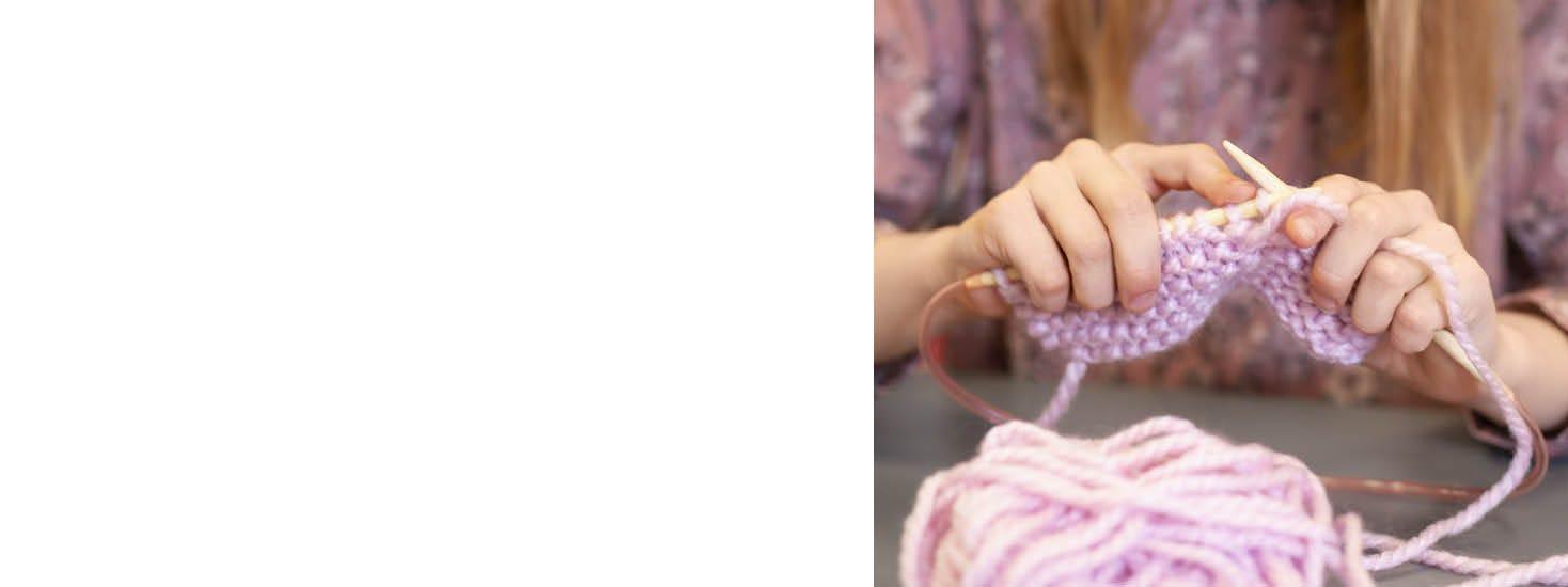 Lavori a maglia e di cucito per bambini
