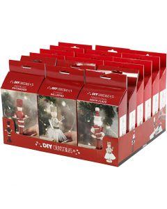 Schiaccianoci, Santa Claus e ballerina, 18 set/ 1 conf.