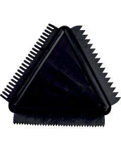 Pettini di gomma sagomati, misura 9 cm, 1 pz