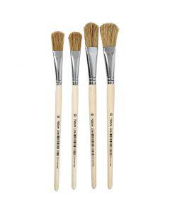 Pennelli per vernice, dim. 10+16, L: 13+17 mm, 4 pz/ 1 conf.