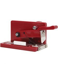 Quilling fringer, H: 4,5 cm, L: 9,5 cm, L: 4 cm, 1 pz