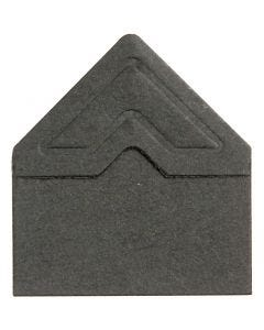 Angoli per foto, L: 10 mm, 110 g, nero, 108 pz/ 1 conf.