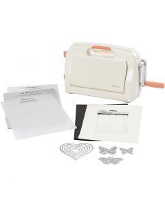 Starter Kit - macchina per fustelle ed embossing, A4, 210x297 mm, 1 set