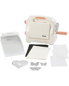 Starter Kit - macchina per fustelle ed embossing, A5, 155x210 mm, 1 set