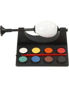 Dipingi uovo, L: 16,5 cm, nero, 1 set