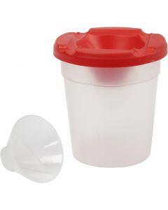 Bicchiere antirovesciamento, H: 8,5 cm, diam: 8 cm, 250 ml, 15 pz/ 1 conf.