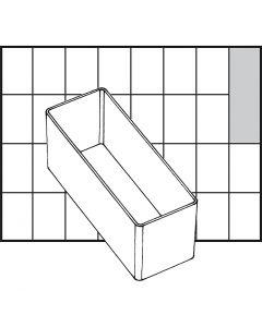 Scatola inserto, dim. A9-2, H: 47 mm, misura 109x39 mm, 1 pz