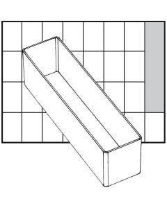 Scatola inserto, dim. A9-3, H: 47 mm, misura 163x39 mm, 1 pz