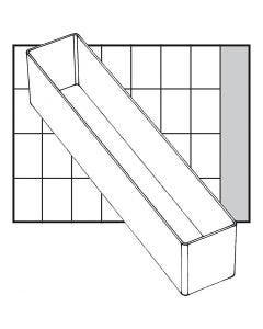 Scatola inserto, dim. A9-4, H: 47 mm, misura 218x39 mm, 1 pz