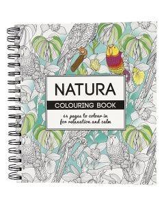 Libro da colorare Mindfullness, natura, misura 19,5x23 cm, 64 , 1 pz