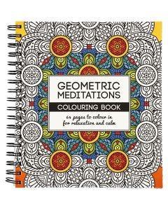 Libro da colorare Mindfullness, forme geometriche, misura 19,5x23 cm, 64 , 1 pz