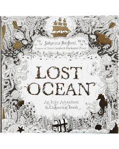 Libro da colorare Mindfullness, Lost Ocean, misura 25x25 cm, 80 , 1 pz