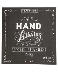 Hand Lettering - 1000 idee, misura 22x23 cm, spess. 2 cm, 143 , 1 pz