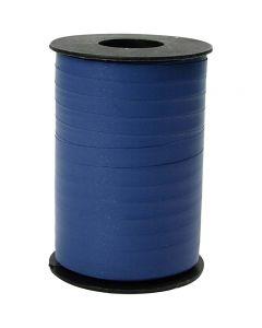 Nastro arricciabile, L: 10 mm, opaco, blu, 250 m/ 1 rot.