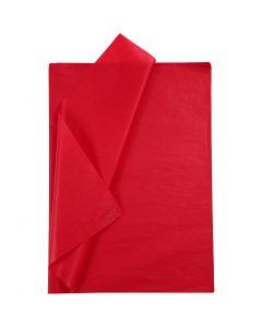 Carta velina, 50x70 cm, 14 g, rosso, 10 fgl./ 1 conf.