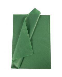 Carta velina, 50x70 cm, 14 g, verde, 10 fgl./ 1 conf.