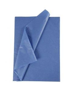 Carta velina, 50x70 cm, 14 g, blu, 10 fgl./ 1 conf.