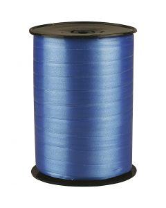 Nastro arricciabile, L: 10 mm, brillante, blu, 250 m/ 1 rot.