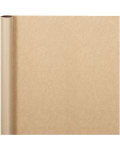 Carta regalo, L: 50 cm, 60 g, natural, 5 m/ 1 rot.