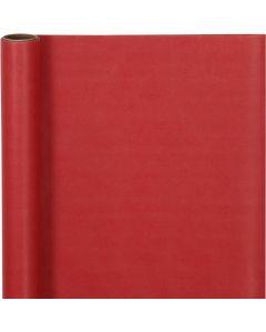 Carta regalo, L: 50 cm, 60 g, rosso, 5 m/ 1 rot.
