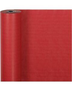 Carta regalo, L: 50 cm, 60 g, rosso, 100 m/ 1 rot.