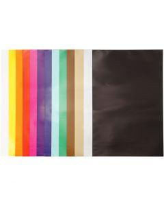 Carta smaltata, 32x48 cm, 80 g, colori asst., 100 fgl./ 1 conf.