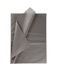 Carta velina, 50x70 cm, 14 g, grigio scuro, 25 fgl./ 1 conf.