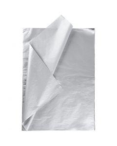 Carta velina, 50x70 cm, 14 g, argento, 25 fgl./ 1 conf.
