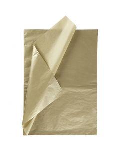 Carta velina, 50x70 cm, 14 g, oro, 25 fgl./ 1 conf.
