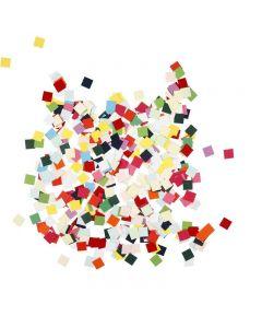 Ritagli per mosaici, quadrato, misura 10x10 mm, 180 g/ 1 conf.