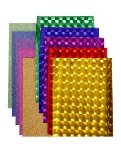 Deco foil - assortimento, L: 35 cm, spess. 30+110 my, colori asst., 10x2 m/ 1 conf.
