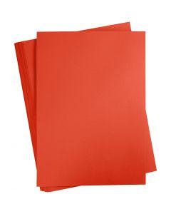 Cartoncino colorato, A2, 420x600 mm, 180 g, rosso fiammante, 100 fgl./ 1 conf.