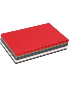 Cartoncino Natale, A6, 105x148 mm, 180 g, colori asst., 120 fgl. asst./ 1 conf.