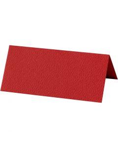 Segnaposto, misura 9x4 cm, 220 g, rosso, 10 pz/ 1 conf.