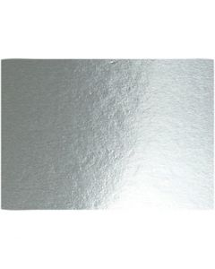 Cartoncino metallizzato, A4, 210x297 mm, 280 g, argento, 10 fgl./ 1 conf.