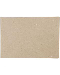 Carta kraft, A2, 420x600 mm, 100 g, grigio-marrone, 500 fgl./ 1 conf.