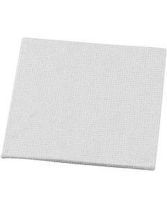 Pannello telato, misura 10x10 cm, 280 g, bianco, 10 pz/ 1 conf.