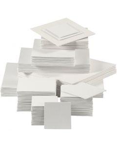 Pannello telato, 280 g, bianco, 110 pz/ 1 conf.