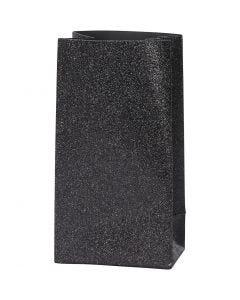 Buste carta, H: 17 cm, misura 6x9 cm, 170 g, nero, 8 pz/ 1 conf.