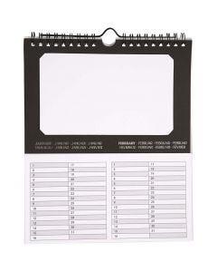 Calendari eterni, misura 19x23 cm, 180 g, 5 pz/ 1 conf.