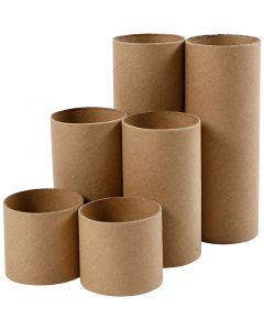 Rotoli di carta igienica, L: 4,7+9,3+14 cm, diam: 5 cm, 6 pz/ 1 conf.