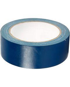 Nastro adesivo telato, L: 38 mm, blu, 25 m/ 1 rot.