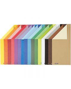 Cartocino Color Bar, A4, 210x297 mm, 250 g, 16 fgl. asst./ 1 conf.