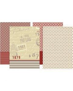 Decoupage Paper, 25x35 cm, 17 g, 8 fgl. asst./ 1 conf.