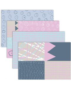 Decoupage Paper, 25x35 cm, 17 g, 4x2 fgl./ 1 conf.