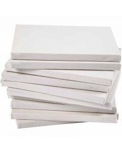 Tela tesata, A5, misura 14,8x21 cm, 280 g, bianco, 80 pz/ 1 conf.