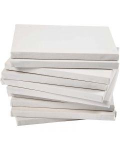 Tela tesata, misura 18x24 cm, 280 g, bianco, 40 pz/ 1 conf.